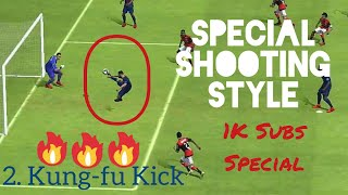 TOP 5 SPECIAL SHOOTING STYLE - PES 18 MOBILE (With Beat Drop) [1K Subscriber Special]