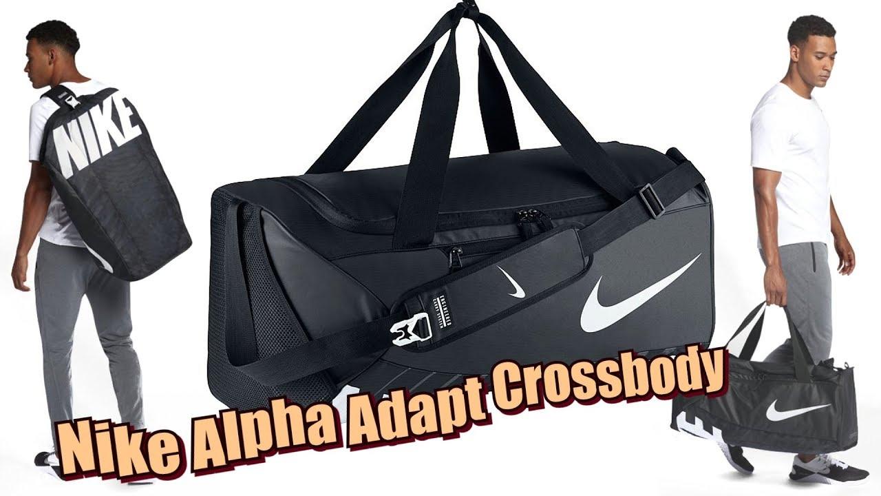 derrota Cada semana Retirada  Спортивная Сумка Nike Alpha Adapt Crossbody. Не дорогая и практичная -  YouTube