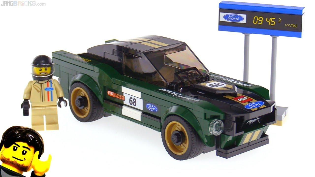 lego speed champions 1968 ford mustang fastback review. Black Bedroom Furniture Sets. Home Design Ideas