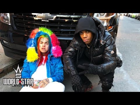 """6IX9INE """"SWERVIN"""" ft A BOOGIE WIT DA HOODIE (New Song Snippet)"""
