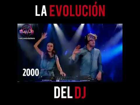 I Love la musica Electrónica La Evolucion de los dj