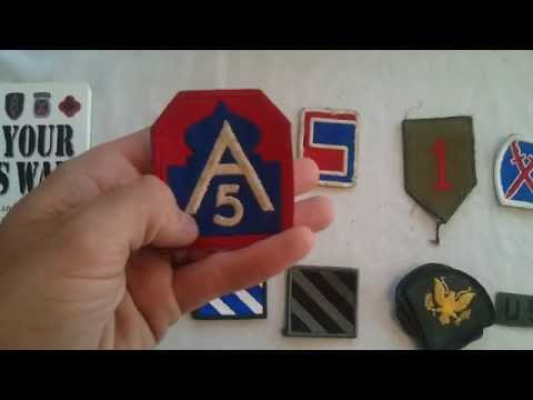 My Military Patch Collection