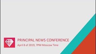 GEM4ME. PRINCIPAL NEWS CONFERENCE. 2019.04.08