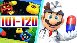 Dr. Mario World Game Level 101- 120 3-Stars Walkthrough