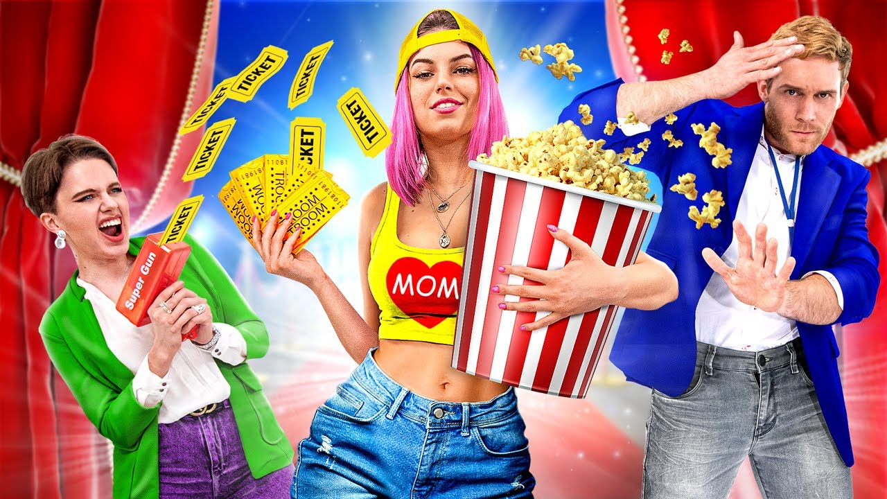 Download If My Mom Runs the Movie Theatre / 16 Funny Situations in the Movie Theatre