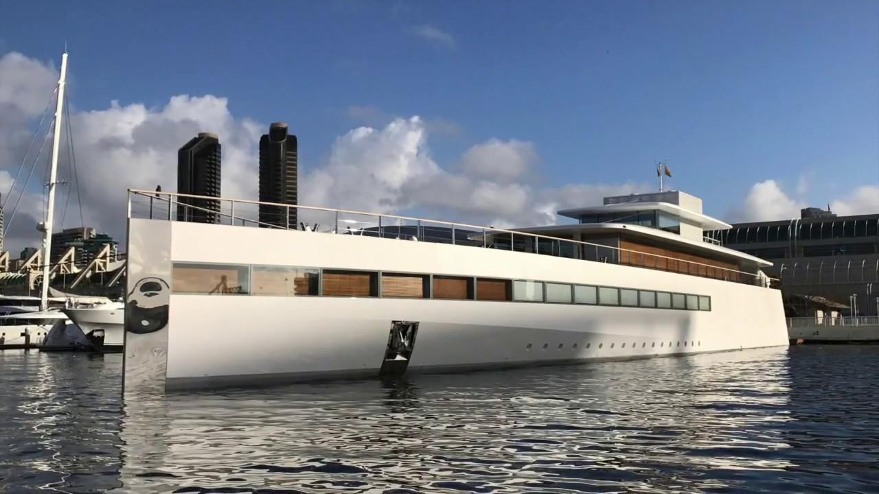 Steve Jobs Mega Yacht VENUS In San Diego By Ian Van Tuyl