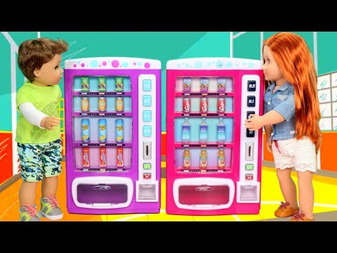 Toy Vending Machine Play Set Haul Unboxing & Review