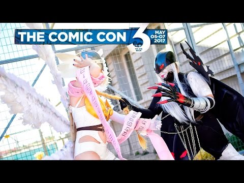 [ The Comic Con 3 ] Cosplays 2017 (1080p / 60fps / Stereo / Thessaloniki / Greece / 05-07.05.2017)