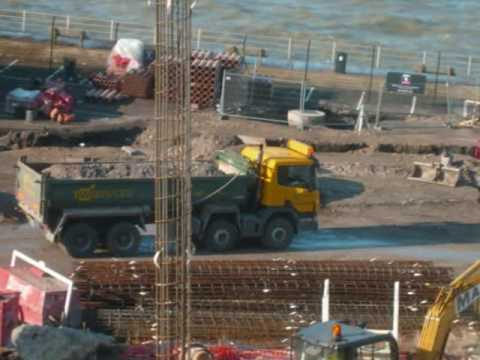 Part 1: Jan 2009 - March 2009 Turner Contemporary Gallery Construction