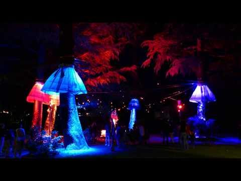 Alois Pupp Park Brixen - Wasser Licht Festival