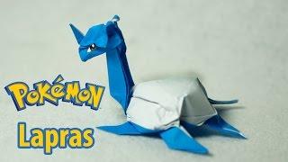 POKEMON - Origami Lapras tutorial (Henry Phạm)