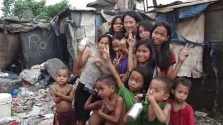 フィリピン・メトロマニラのスモーキーマウンテンに於いて.