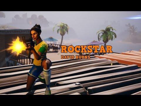 FORTNITE MONTAGE - Rockstar (David Burns)