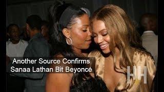 Another Source Confirms Sanaa Lathan Bit Beyoncé