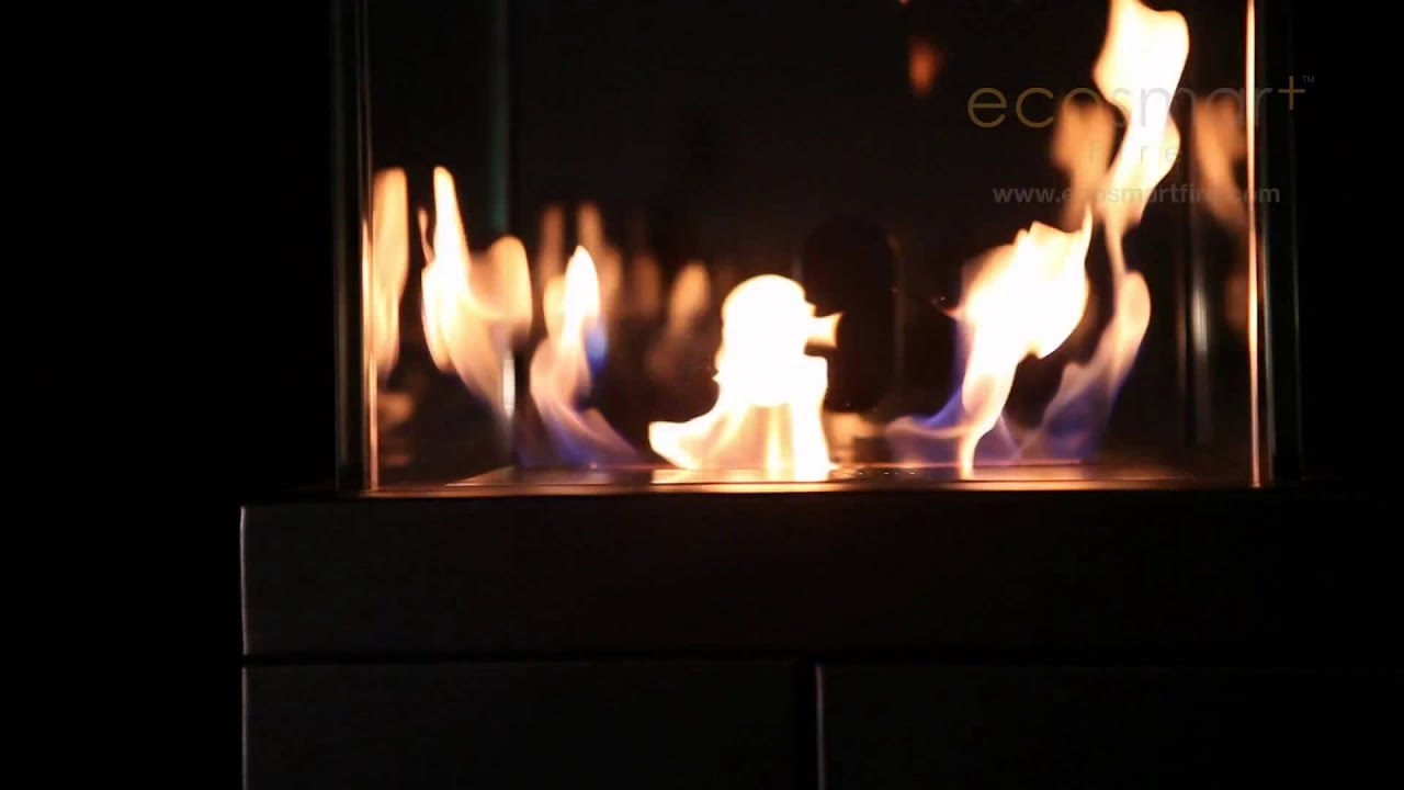 Kamin Youtube Tower Designer Ethanol Kamin By Ecosmart Fire
