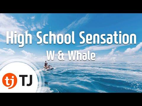 [TJ노래방] High School Sensation - W & Whale / TJ Karaoke
