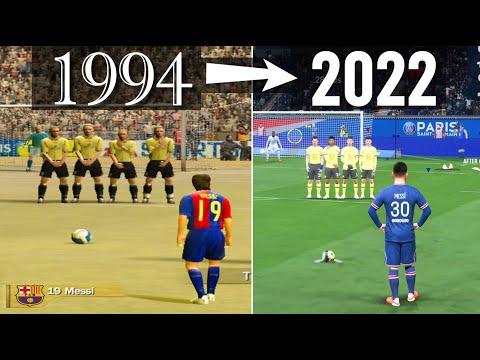 Free Kicks From FIFA 94 To 22