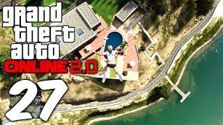 GTA Online 2.0 | #27 | CHALLENGE: Ohne Fallschirm im Pool landen [Deutsch/HD]