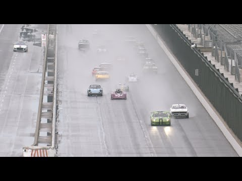 Hour long enduro Sunday in the rain at INDY