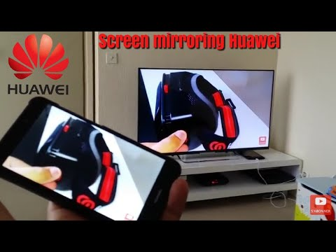 Screen Mirroring, Mirrorshare Huawei Afficher L'ecran Du Smartphone Sur La Tv