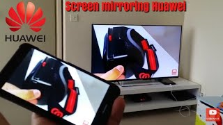 Screen mirroring, mirrorshare huawei afficher l'ecran du smartphone sur la tv