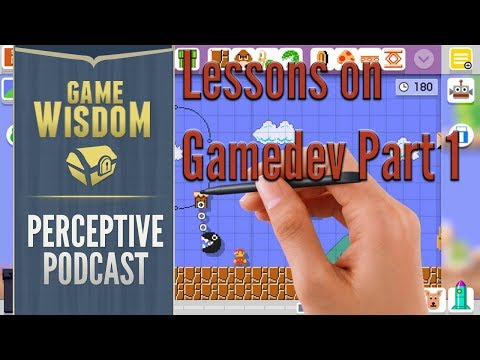 How to Get Into Game Development for New Designers Part 1 -- Perceptive Podcast