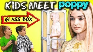 Kids React Cast MEETS Poppy For The First Time