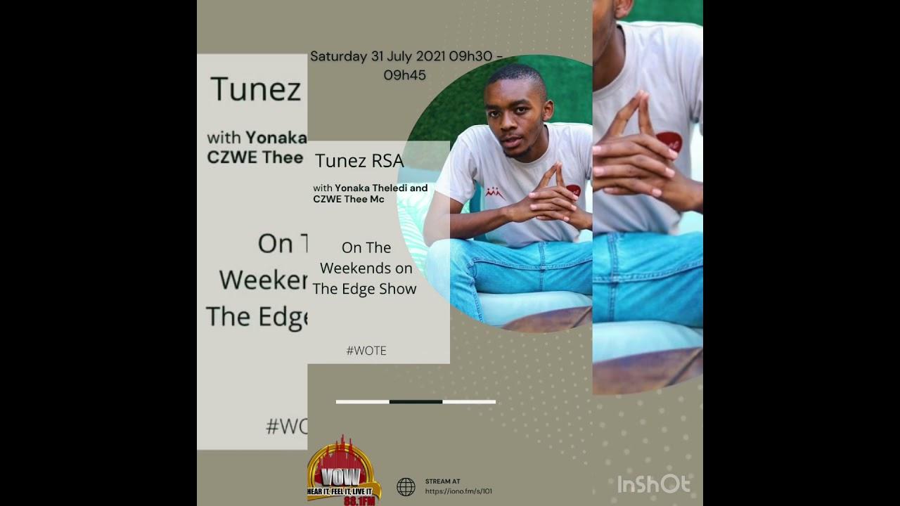 Download Tunez RSA Interview at Vow FM