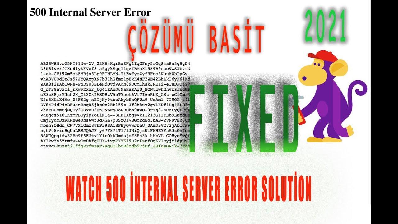 internal server