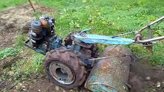 Ciągnik ogrodniczy Srtaub jednoosiowy testy