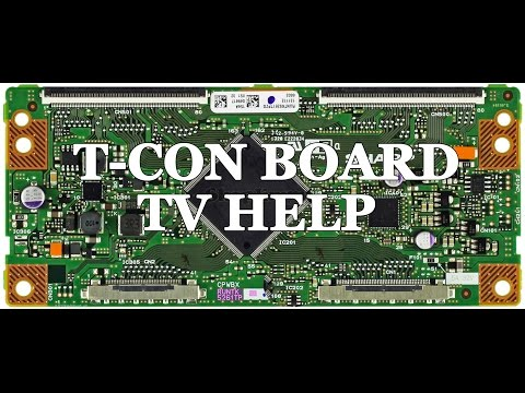 lcd tv repair tutorial t con board common symptoms solutions how to replace t con board. Black Bedroom Furniture Sets. Home Design Ideas