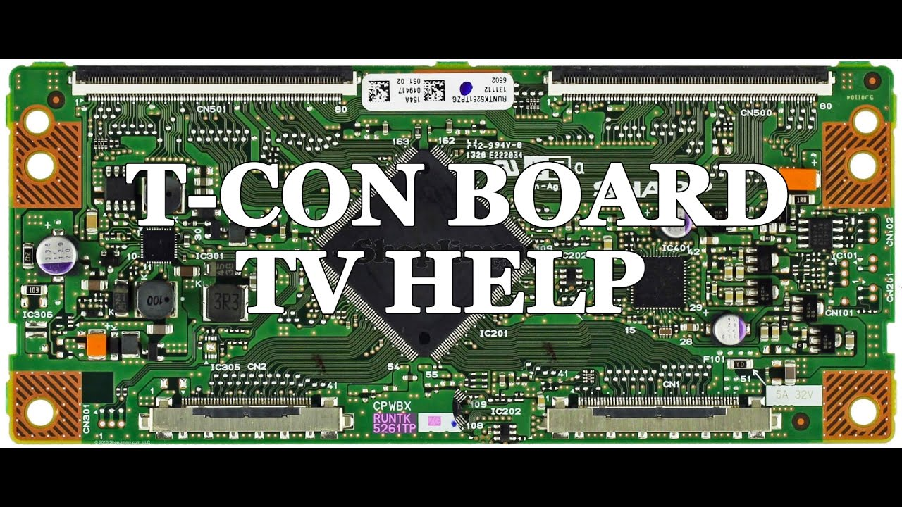 small resolution of lcd tv repair tutorial t con board common symptoms solutions how to replace t con board