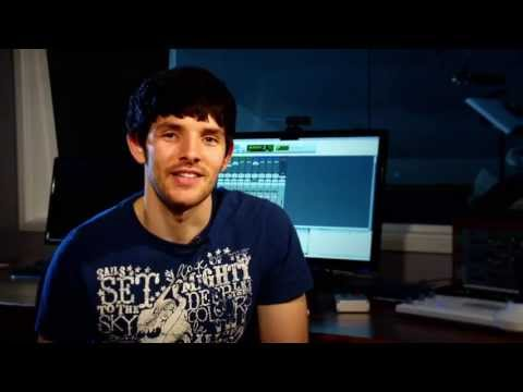 Merlin The Game -  Behind the scenes of the Voice Over Sessions ft. Colin Morgan