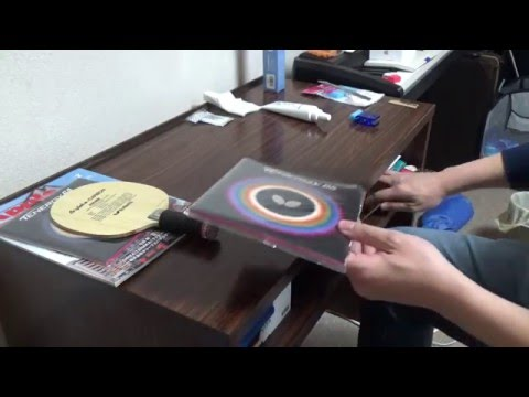 How to change table tennis rubbers