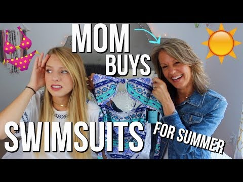 MY MOM BUYS MY BATHING SUITS FOR SUMMER   Cupshe bathing suit haul