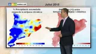 Predicció per a dimarts 04-08-2015: sol al matí, ruixats de tarda