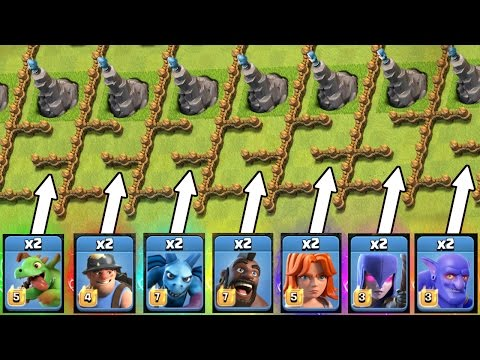 Clash Of Clans MINI OLYMPICS!! 💥 OLYMPIC TROLL VILLAGE!! 💥