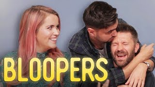 Spikey face hurt me | BLOOPERS