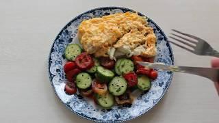 Рыба запеченная в сметане с морковью (#Русская кухня)