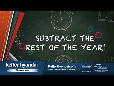 Keffer Hyundai - Back to school Savings!