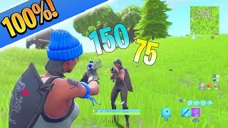 How to Have 100% Deagle Aim Fortnite Tips and Tricks! How to Aim Better in Fortnite Ps4/Xbox Tips!