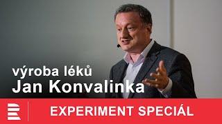Jan Konvalinka: Jak se hledá lék? Příběhy objevů léčby HIV, eboly, leukémie
