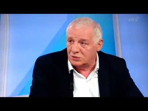 Eamon Dunphy throwing Liam brady out of the 5th floor window