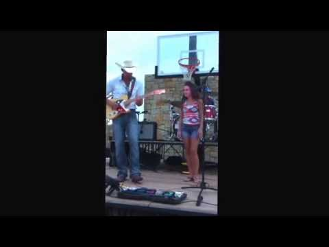 Morgan Reatherford performing with Mark Powell and Lariat covering Folsom Prison