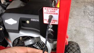 How To Start & Operate A Portable Generator (Tutorial)