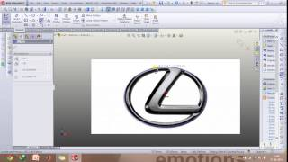 Importing images and using them to make complex models in Solidworks