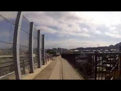 2013-09-27 Riding down the coast from Kumano to Nachikatsuura.  熊野市から那智勝浦へサイクルツーリング