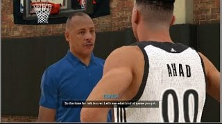 NBA 2K15 Xbox One My Career - The Try Out Game!!! Meeting With Coach! Episode 2/ Part 2 Thumbnail