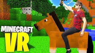 PIERWSZY KOŃ   Minecraft VR #3