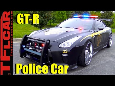 Copzilla! Meet the Nissan GT-R Cop Car